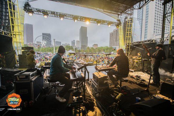 Papadosio - SweetWater 420 Festival 4/22/18 - Centennial Park, Atlanta GA - Photo © Dave Vann 2018